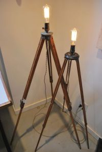 Decor: Awesome Tripod Lamp For Interior Lighting Ideas ...