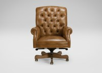 Dining Room: Tufted Chair | Tufted Leather Office Chair ...