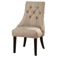 Dining Room: Grey Wingback Chair