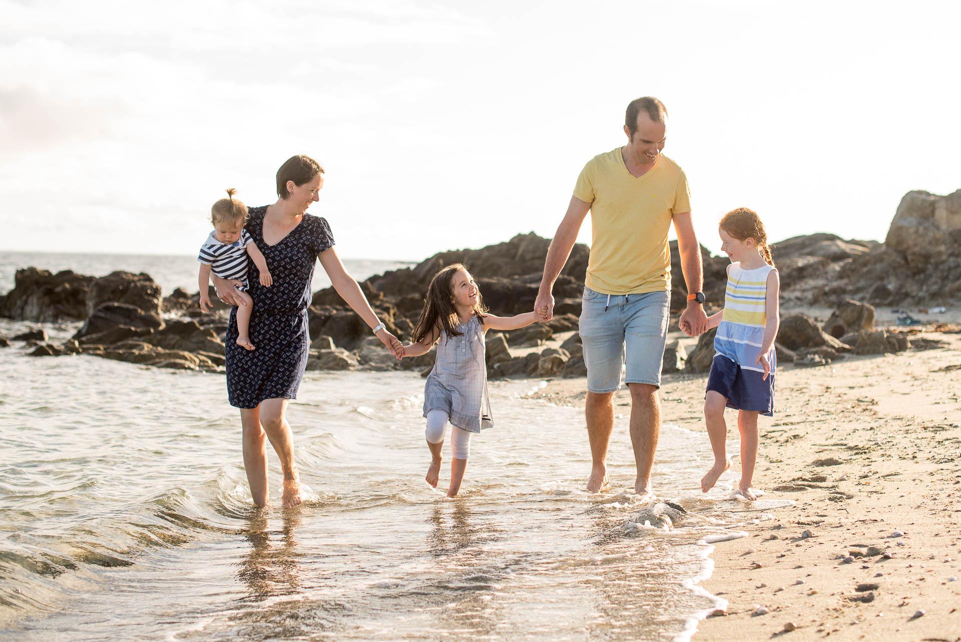 séance famille plage