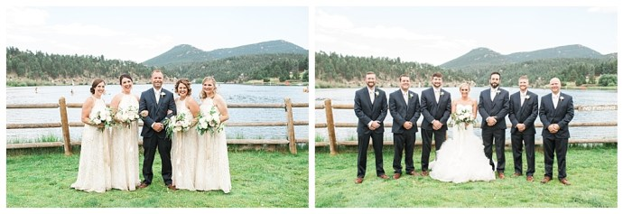 Stephanie Marie Photography Evergreen Lakehouse Colorado Iowa City Destination Wedding Photographer Katie Brandon 29