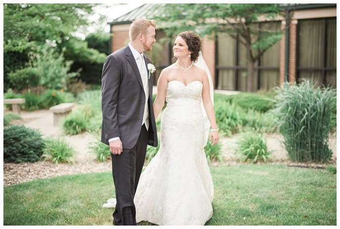 Stephanie Marie Photography Echo Hill Presbyterian Church Marriott Cedar Rapids Iowa City Wedding Photographer Tom Meghan 21