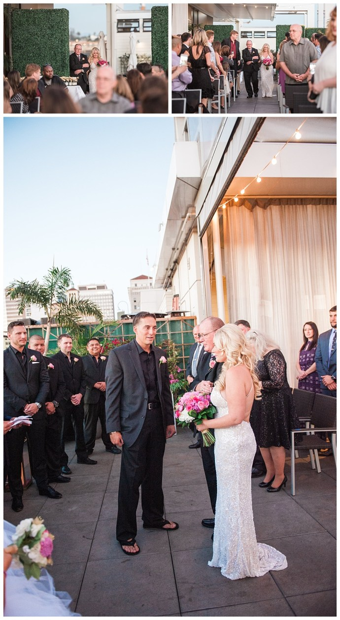 Stephanie Marie Photography Andaz Hotel San Diego California Iowa City Wedding Photographer Matt Andrea 10