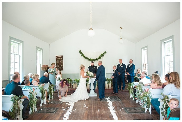 Stephanie Marie Photography Woodbury County Fair Church Moville Iowa City Wedding Photographer Katie Kurt 23