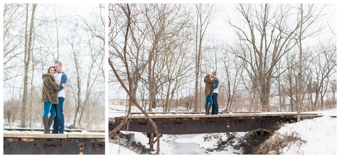 Stephanie Marie Photography Winter Engagement Session Iowa City Wedding Photographer Chelsey Justin_0012.jpg