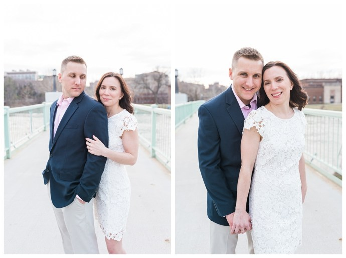 Stephanie Marie Photography IMU Building Engagement Session Iowa City Wedding Photographer Jen Nick_0019.jpg