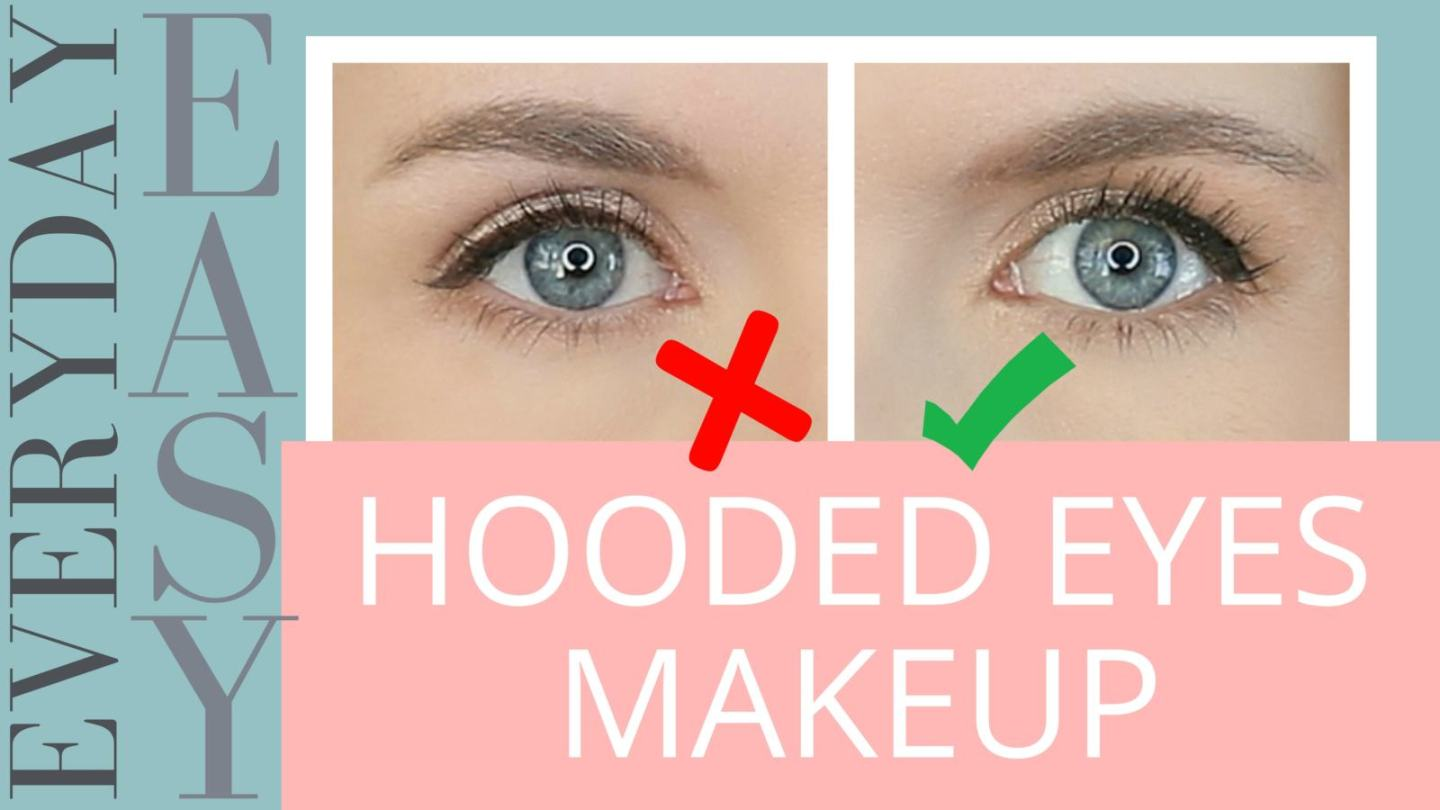 hooded eyes? an easy • everyday • quick makeup tutorial
