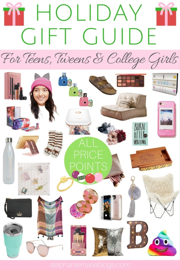 Holiday Gift Guide For Girls Holiday Gift Guide For Teens