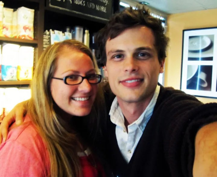 me and matthew gray gubler aka spencer reid from criminal minds // stephanieorefice.net