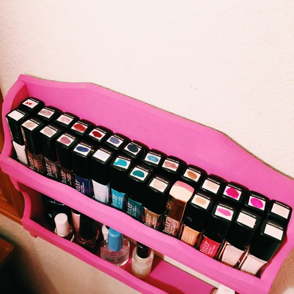 nail polish organization // stephanieorefice.net