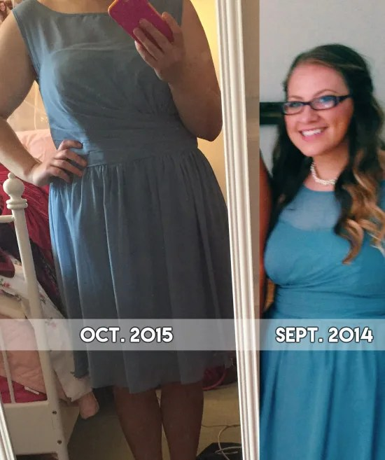 Before/After weight loss // stephanieorefice.net