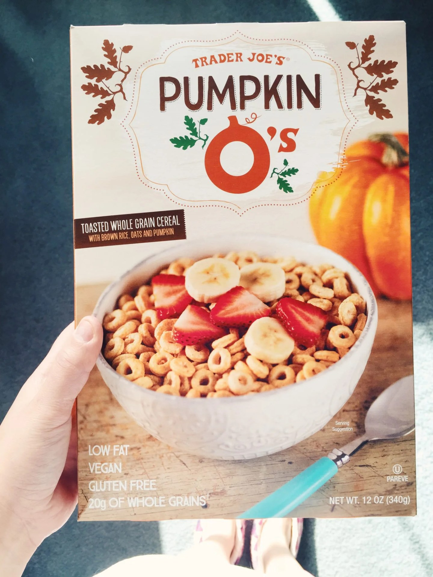 Trader Joe's Pumpkin O's // stephanieorefice.net