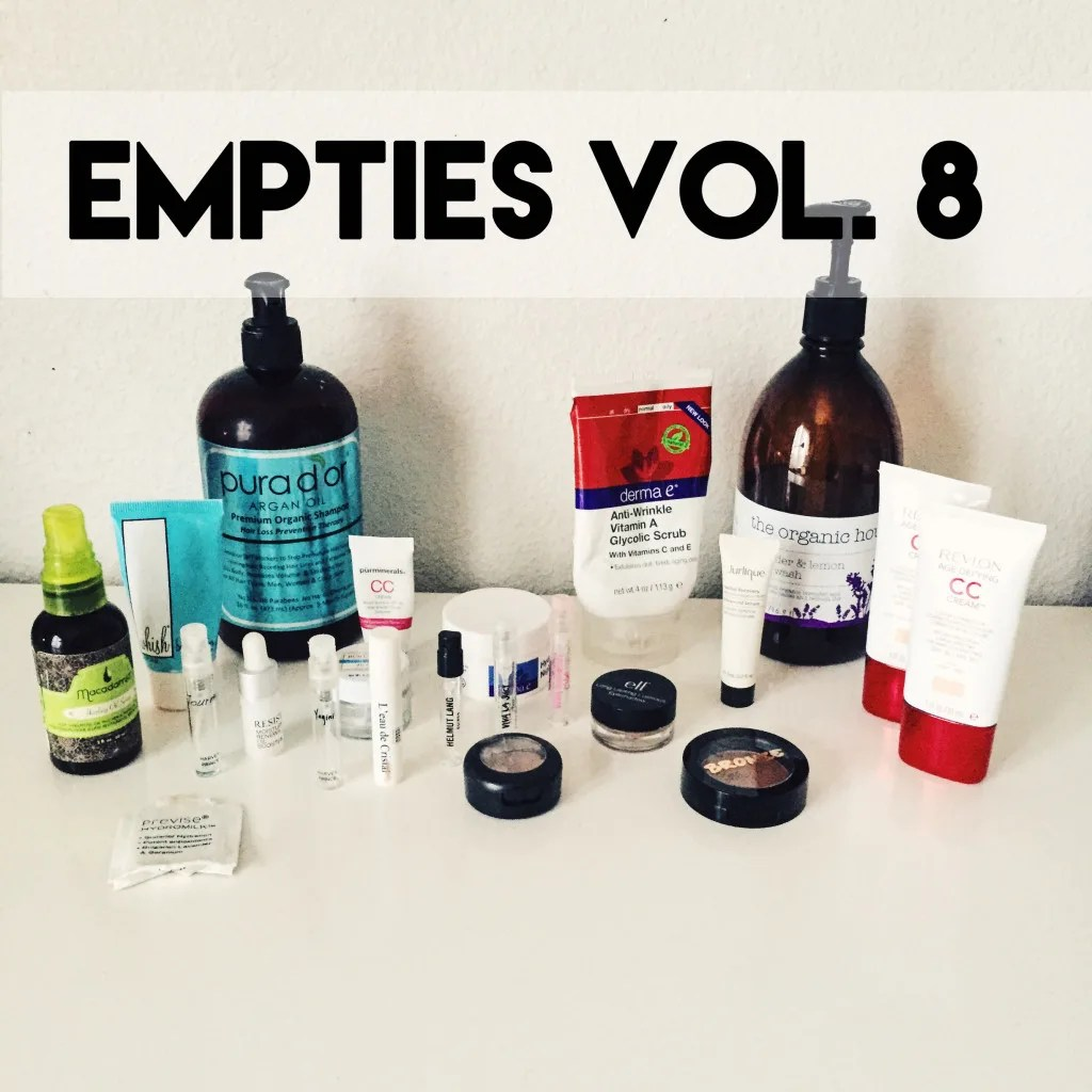 Empties volume 8 // stephanieorefice.net
