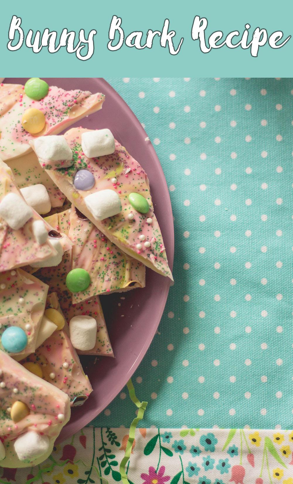 Easy Spring Recipe: Bunny Bark // stephanieorefice.net