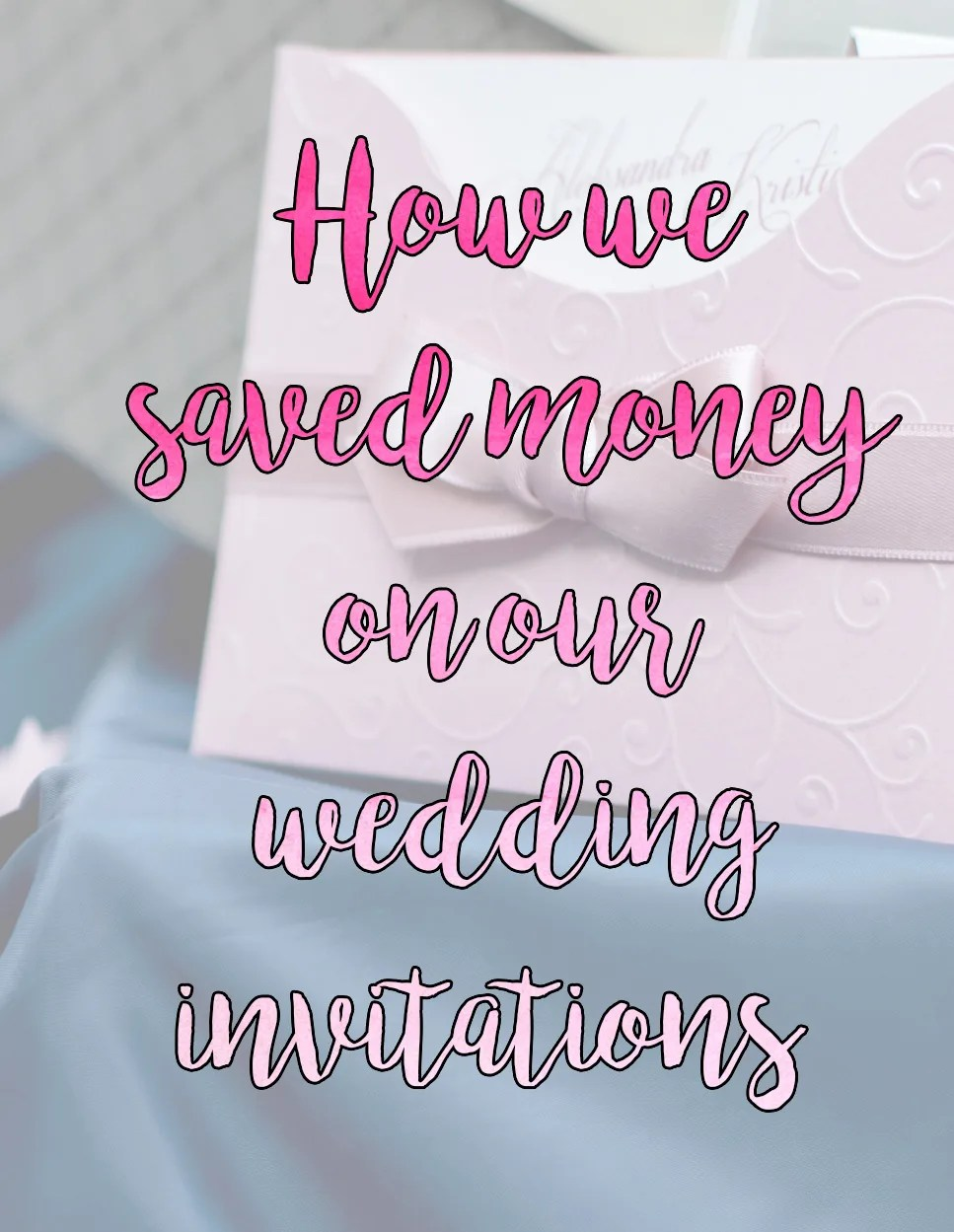 Cheap Wedding invitations, DIY Wedding invitations // stephanieorefice.net