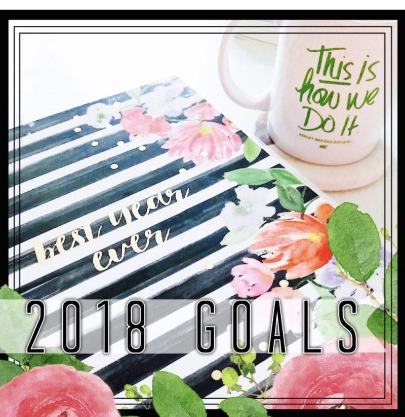 2018 Goals // stephanieorefice.net