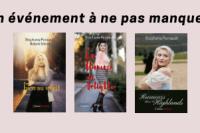 Lancement des trois dernières parutions de l'auteure Stéphanie Perreault