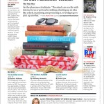 "AARP Magazine's ""Great Summer Reads"" ""ALONE TIME: Four Seasons, Four Cities, and the Pleasures of Solitude."""