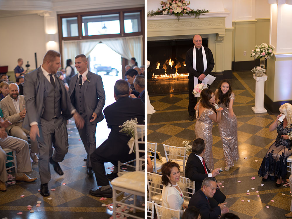 Ceremony GLAM MONTE CRISTO BALLROOM WEDDING | EVERETT WEDDING PHOTOGRAPHER