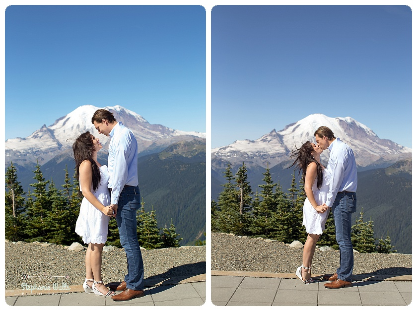 Crystal Mountain Resort Engagement | Enumclaw Engagement Photographer