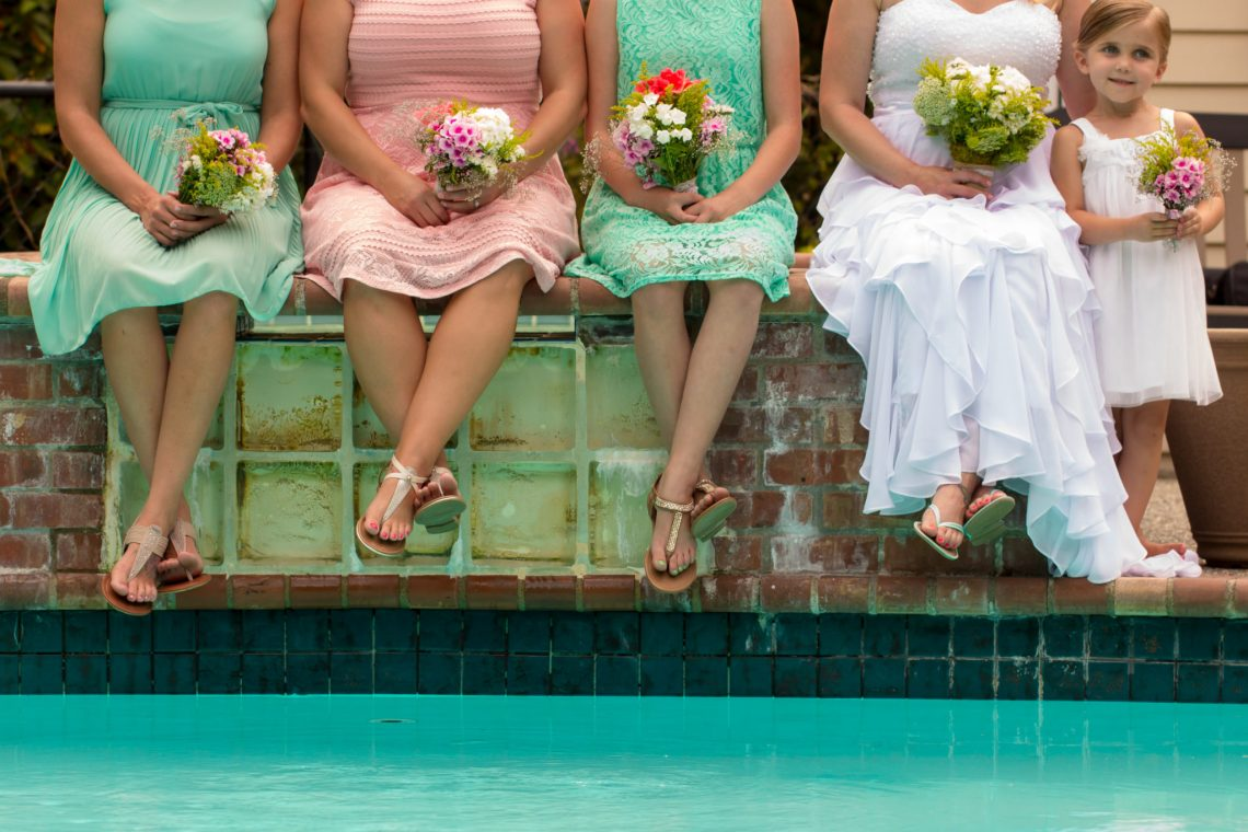 Cruz Bridesmaids 5 WOODINVILLE BACKYARD POOL WEDDING | WOODINVILLE WEDDING PHOTOGRAPHER