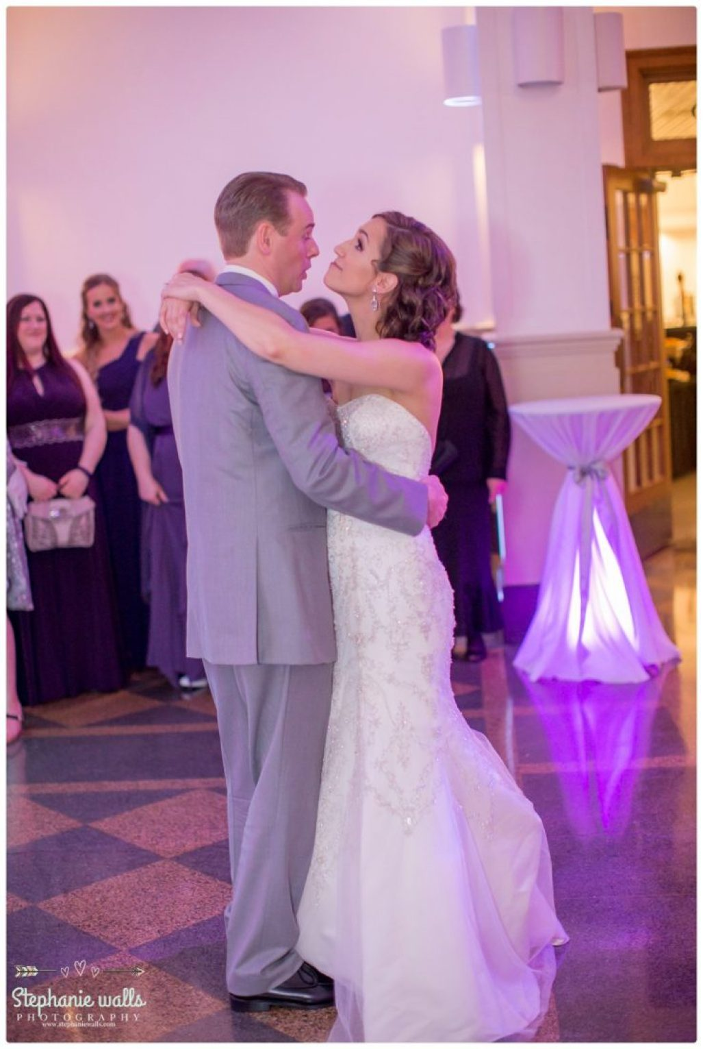 2016 02 16 0066 Purple Glam | Monte Cristo Ballroom Wedding Everett, Washington