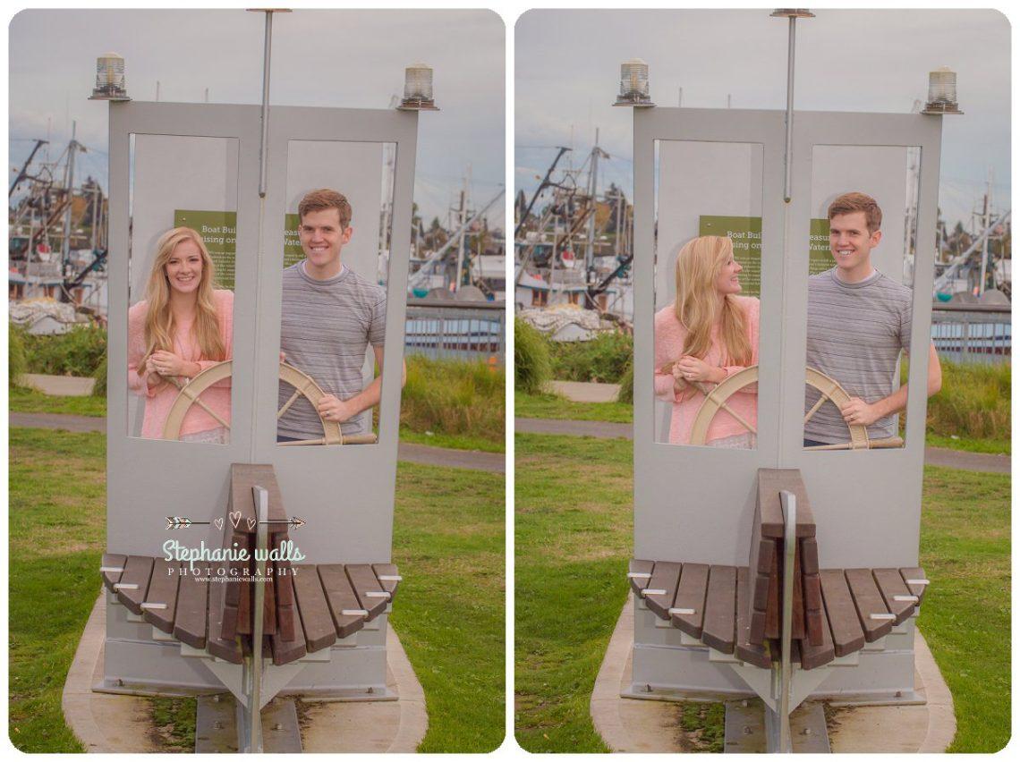 2016 12 21 0014 Windy Engagement | Everett Marina Dock Engagement Session