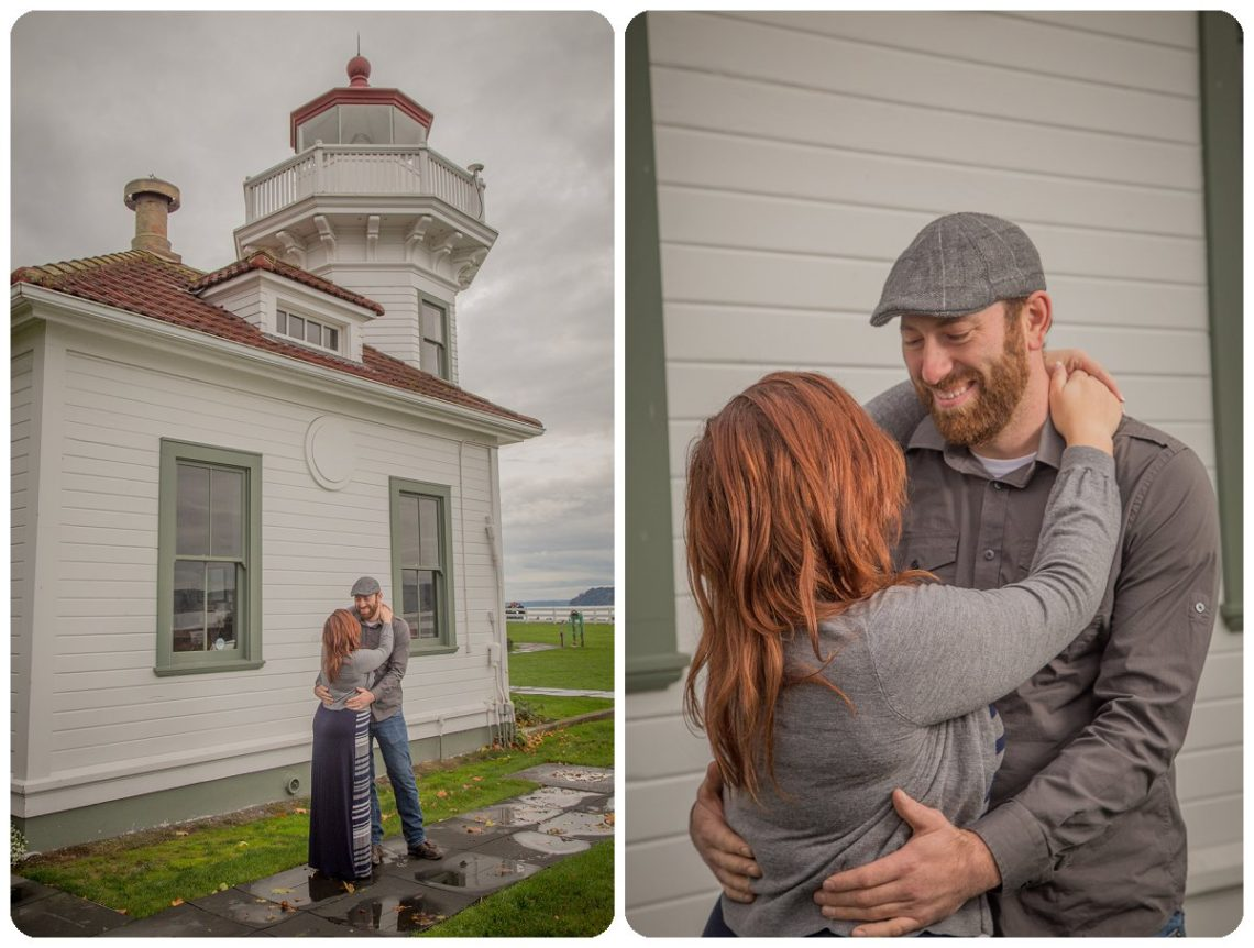 2017 02 06 0004 Sailing our love through blue skys | Mukilteo Lighthouse Engagement Session