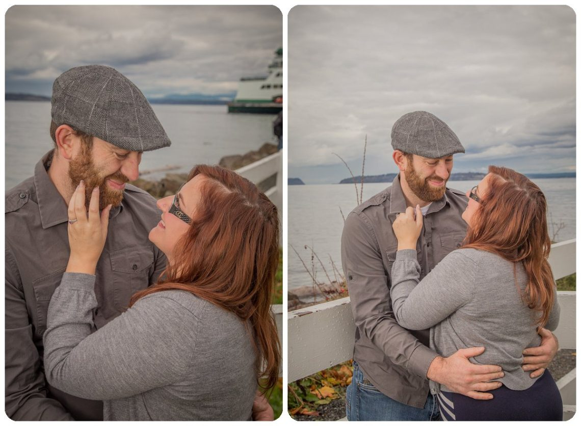 2017 02 06 0006 Sailing our love through blue skys | Mukilteo Lighthouse Engagement Session