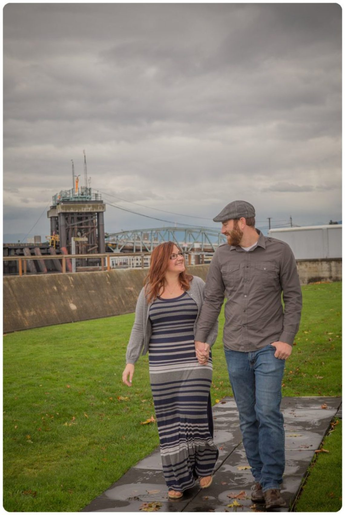 2017 02 06 0007 Sailing our love through blue skys | Mukilteo Lighthouse Engagement Session