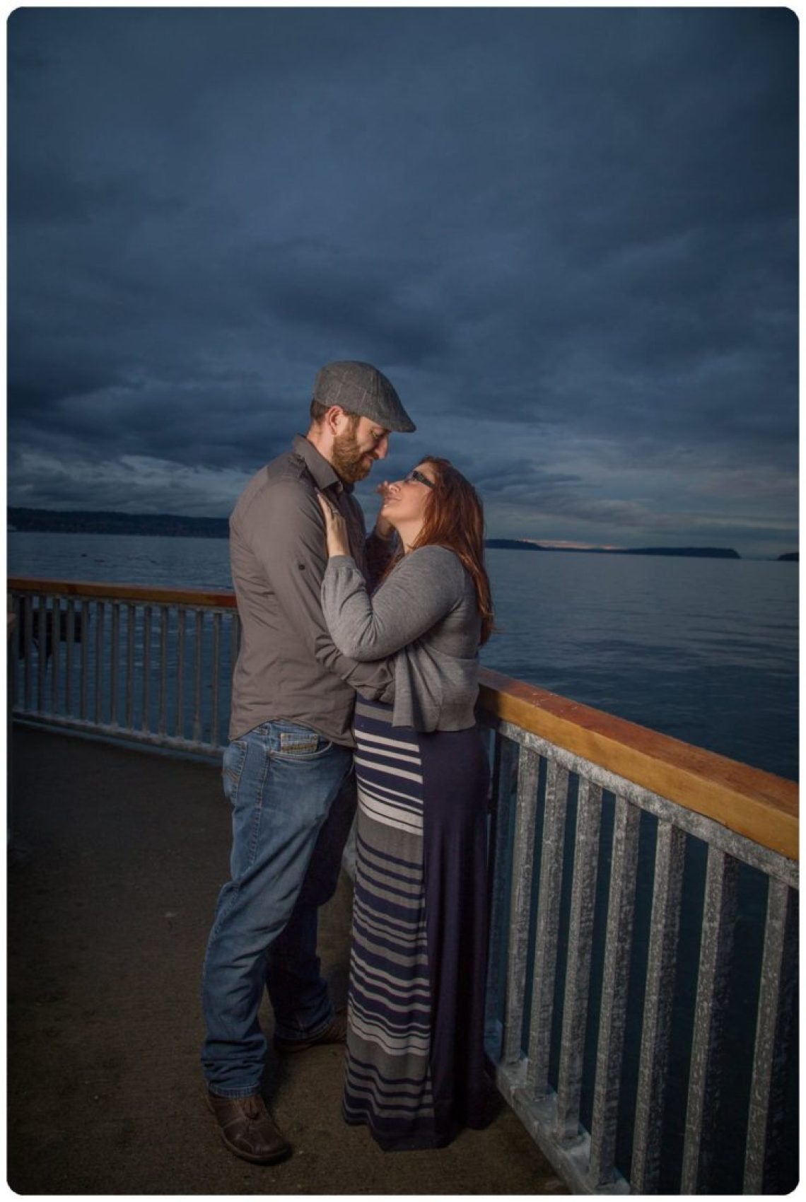 2017 02 06 0015 Sailing our love through blue skys | Mukilteo Lighthouse Engagement Session