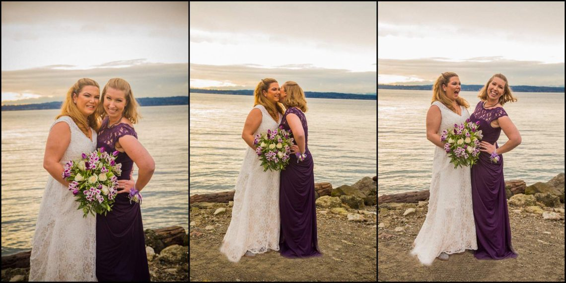 Buck Wedding 45 WATCHING SUNSETS TOGETHER |  BEACH ELOPEMENT WEDDING EDMONDS, WA
