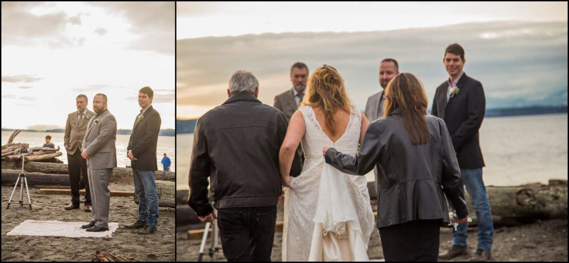 Buck Wedding 85 WATCHING SUNSETS TOGETHER |  BEACH ELOPEMENT WEDDING EDMONDS, WA