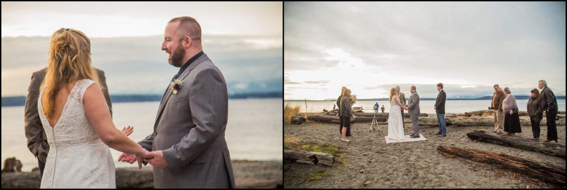 Buck Wedding 92 WATCHING SUNSETS TOGETHER |  BEACH ELOPEMENT WEDDING EDMONDS, WA