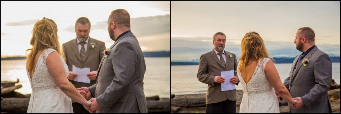 Buck Wedding 96 WATCHING SUNSETS TOGETHER |  BEACH ELOPEMENT WEDDING EDMONDS, WA