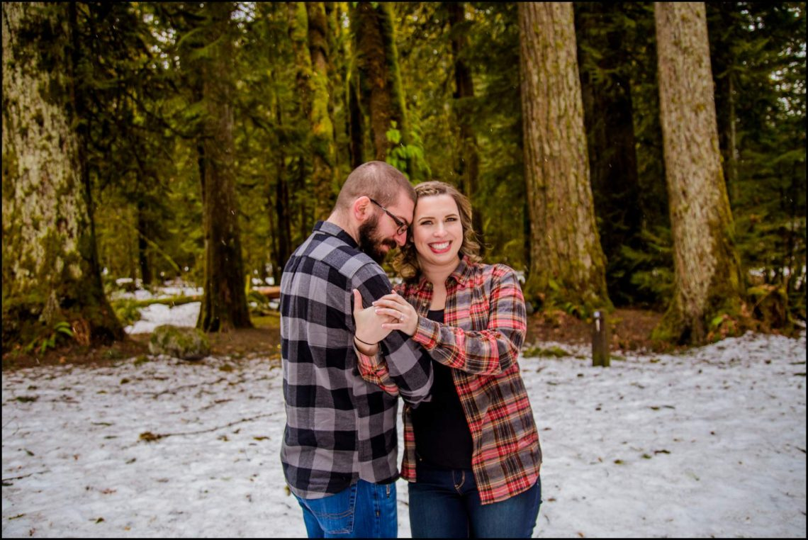 Lauren Hovig 13 I LOVE YOU I KNOW | MONEY CREEK ENGAGEMENT SESSION | SKYKOMISH, WA