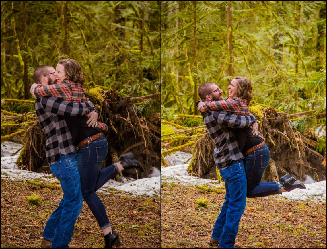 Lauren Hovig 38 I LOVE YOU I KNOW | MONEY CREEK ENGAGEMENT SESSION | SKYKOMISH, WA