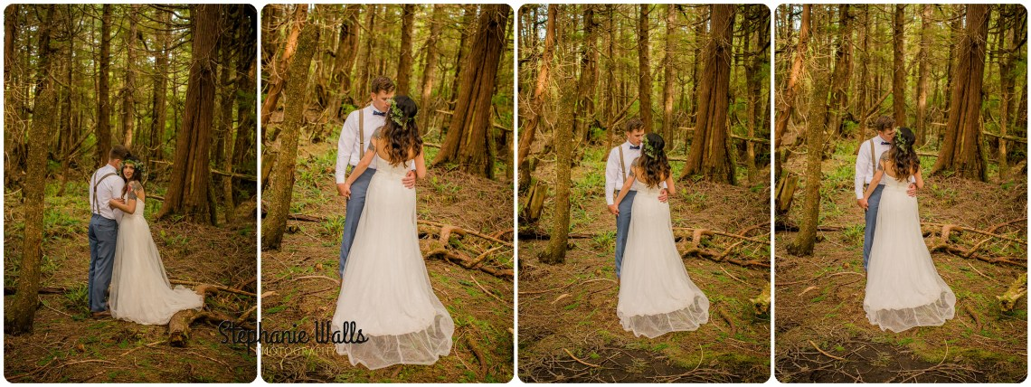 Belfour 450 INTIMATE CLIFFSIDE ELOPEMENT | CAPE FLATTERY NEAH BAY | STEPHANIE WALLS PHOTOGRAPHY