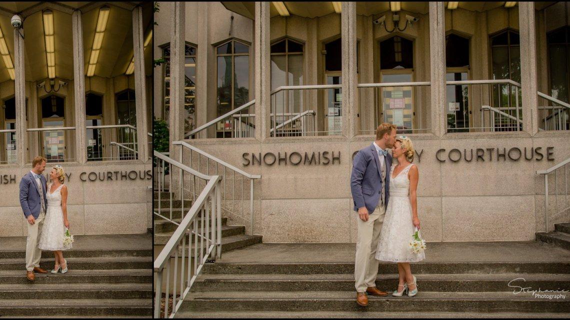 Everett court house Civil Ceremony