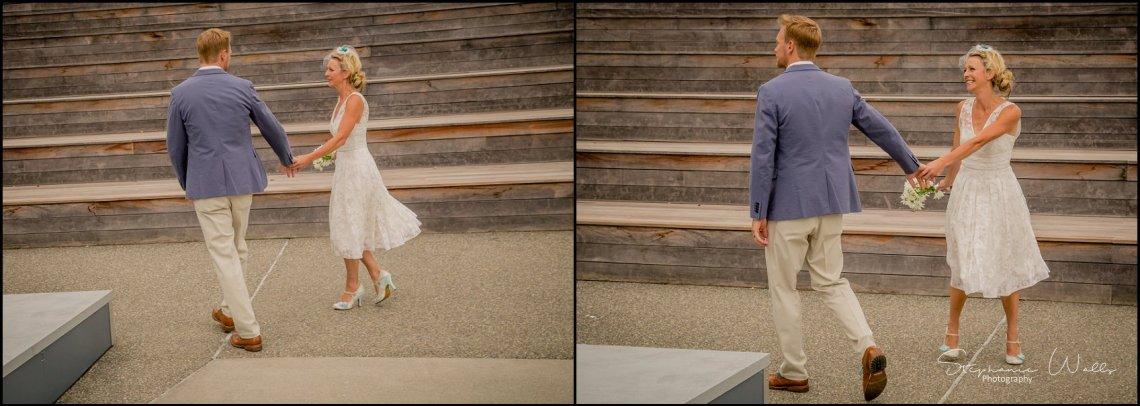 Hall Elopement150 Candace & Matthews Sweet Everett Court House Wedding Ceremony | Everett, Wa