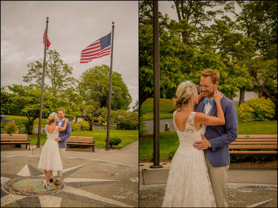 Hall Elopement296 Candace & Matthews Sweet Everett Court House Wedding Ceremony | Everett, Wa
