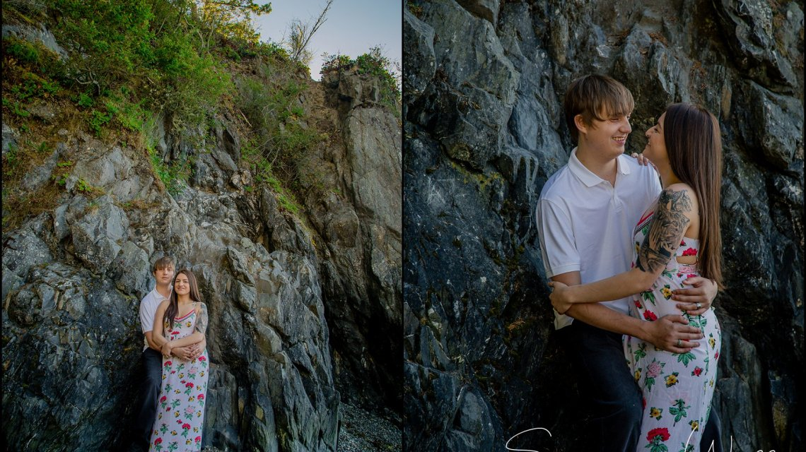 IN A GALAXY FAR FAR AWAY | NATALY & MARTY | DECEPTION PASS ENGAGEMENT SESSION