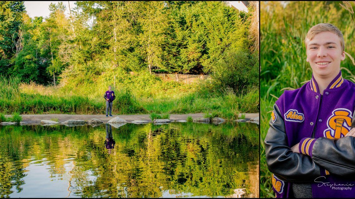 Alex Co2018 | Jennings Memorial Park | Lake Stevens Senior Photographer