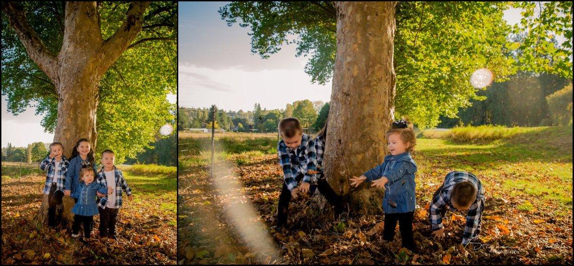 Carlson Grandkids 011 1 Fall Mini Sessions   Snohomish Portrait Photographer   Stephanie Walls Photography