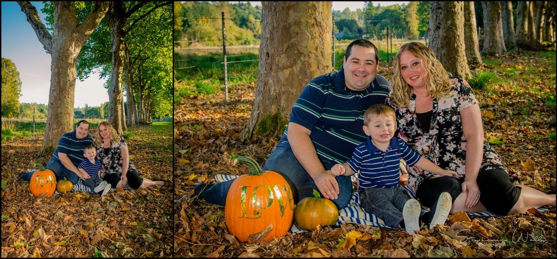 Cort Family 002 Fall Mini Sessions   Snohomish Portrait Photographer   Stephanie Walls Photography