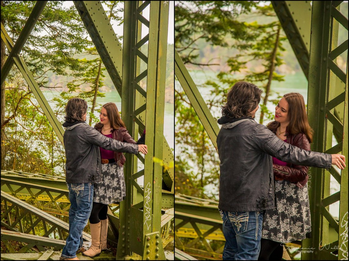 Foss 003 Rainy Engagement Session | Deception Pass Park Engagement Session | Anacortes, Wa Wedding Photographer