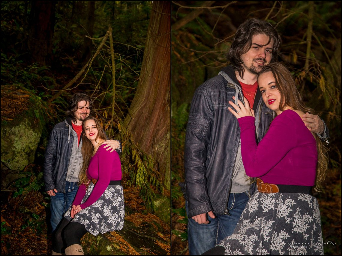 Foss 023 Rainy Engagement Session | Deception Pass Park Engagement Session | Anacortes, Wa Wedding Photographer