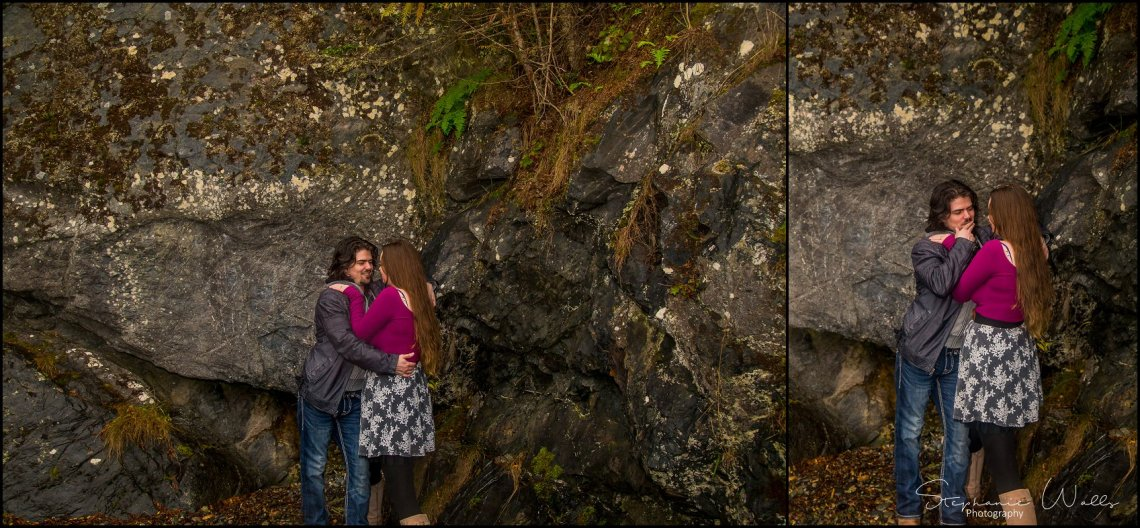 Foss 035 Rainy Engagement Session | Deception Pass Park Engagement Session | Anacortes, Wa Wedding Photographer