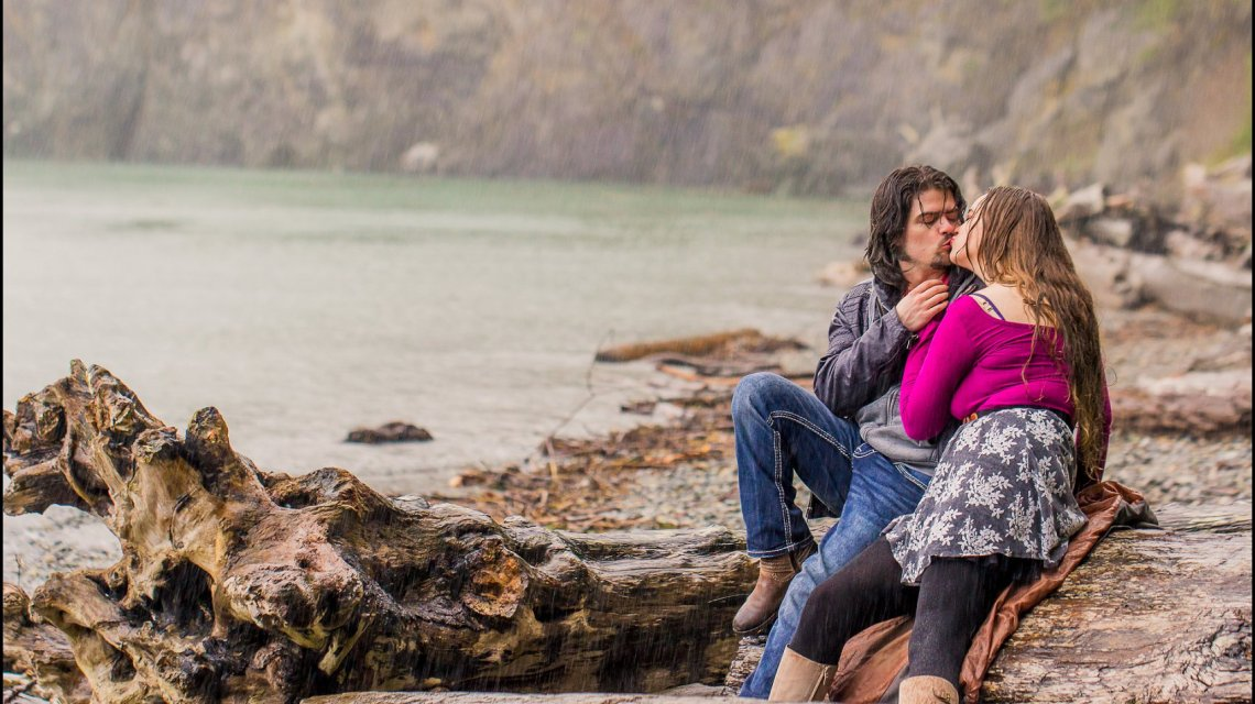 Rainy Engagement Session | Deception Pass Park Engagement Session | Anacortes, Wa Wedding Photographer