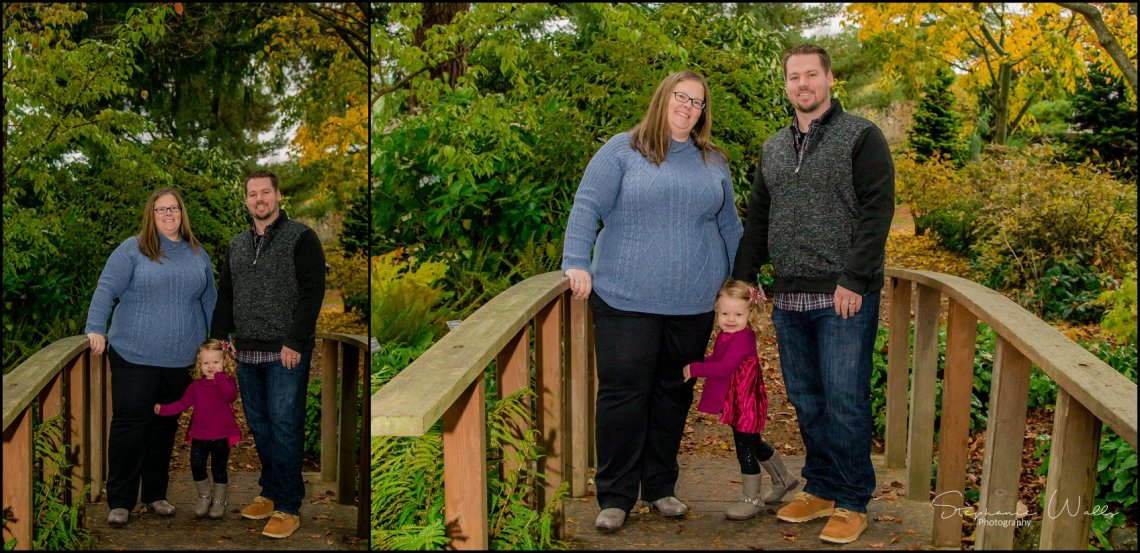 Gunderman Family 001 Rainy Day Family Session | Evergreen Arboretum & Gardens | Everett Family Portrait Photographer
